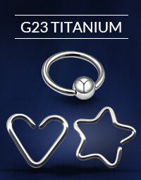 G23 Titanium Earrings