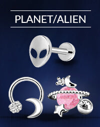Planet/Alien Earrings