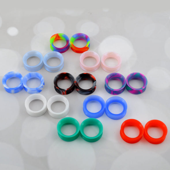 silicone ear gauges pack