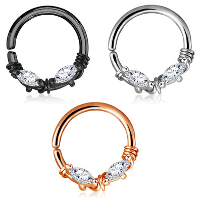 cartilage earring hoop pack