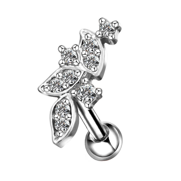 cz cluster cartilage earring