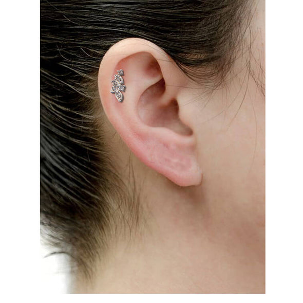 cluster cartilage earring