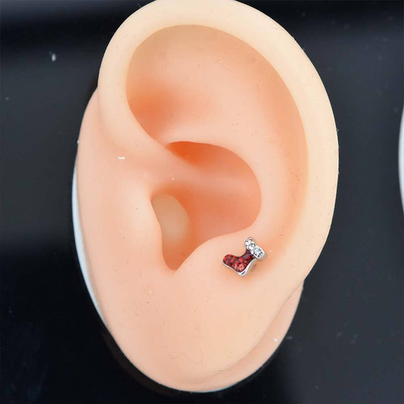 lobe small cartilage studs