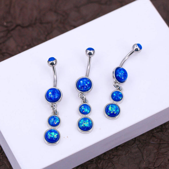 dangle belly button rings