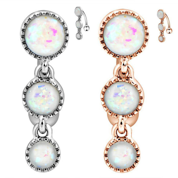 reverse belly rings