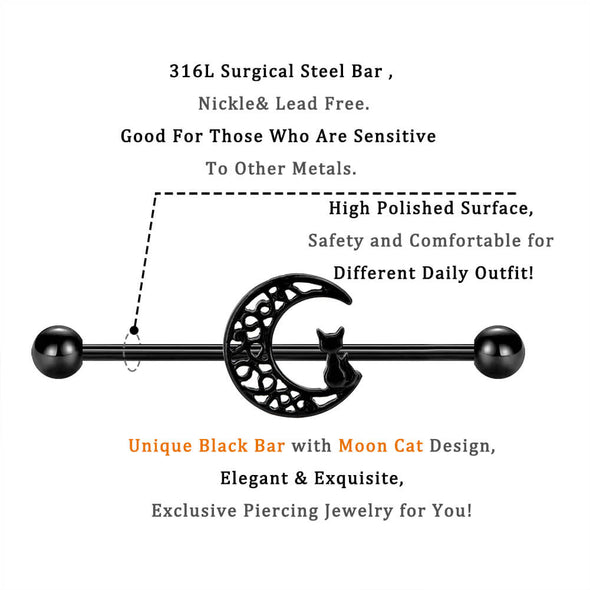 black cat industrial barbell