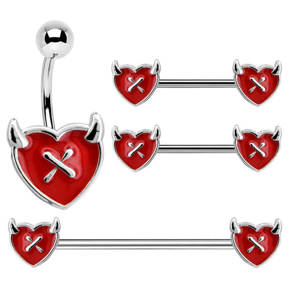 Red Heart Devil's Ear Collection Set
