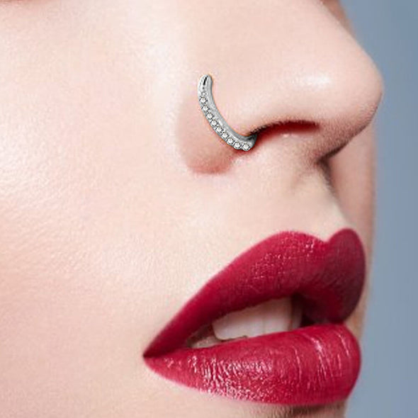 nostril hoop ring
