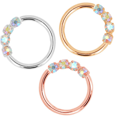 oufer cartilage earrings hoop pack