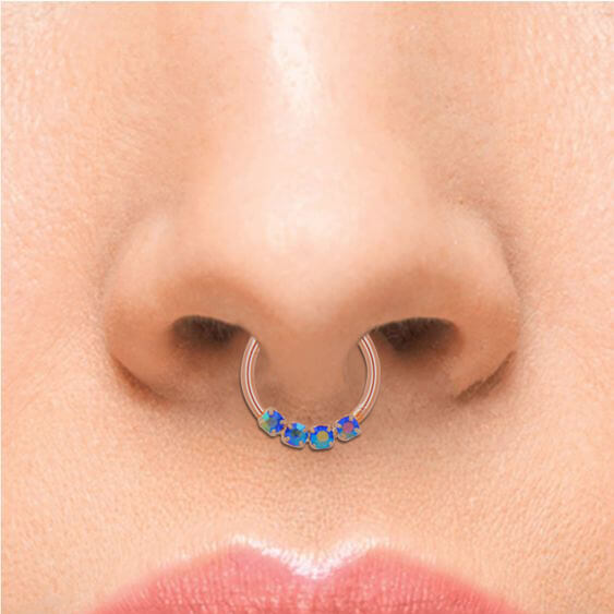 helix hoop earrings septum