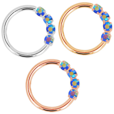 oufer helix hoop earrings