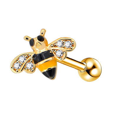 16G honeybee cartilage stud