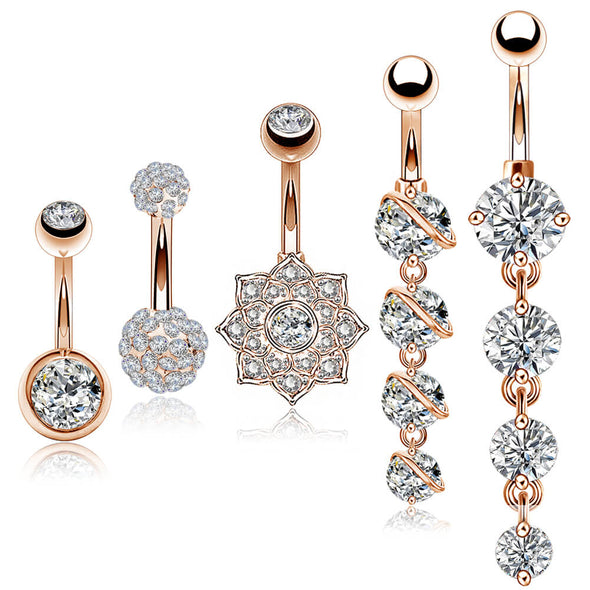 oufer belly button ring packs