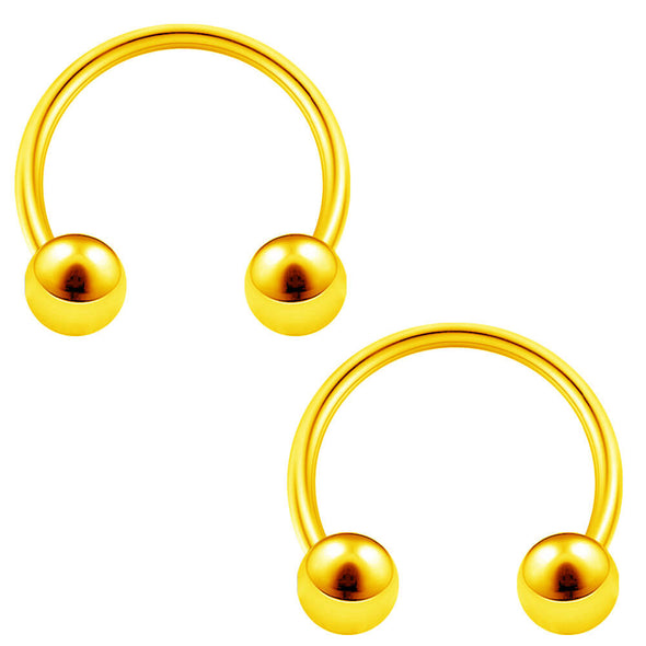 oufer horseshoe septum rings