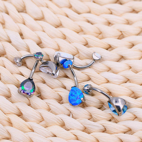 titanium belly button rings