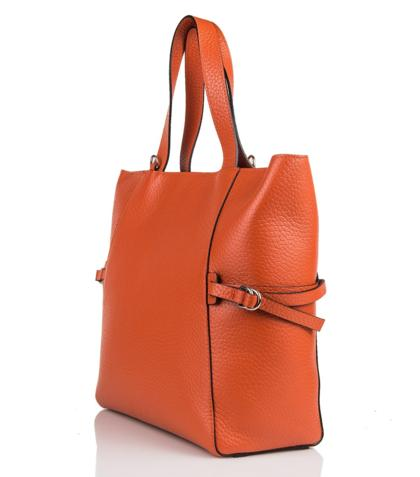 Top Handle Shopper Leather Bag