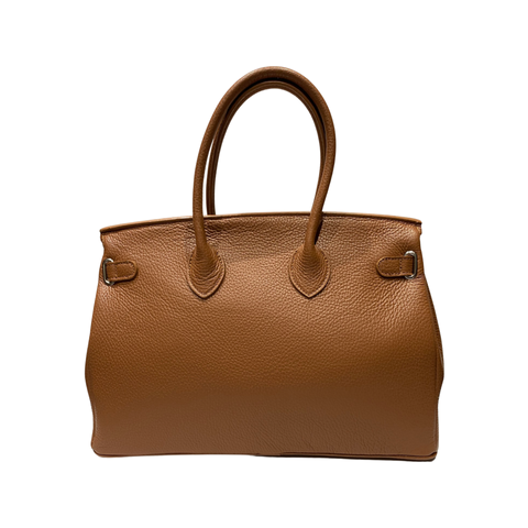 Top Handles Large Leather Tote Bag