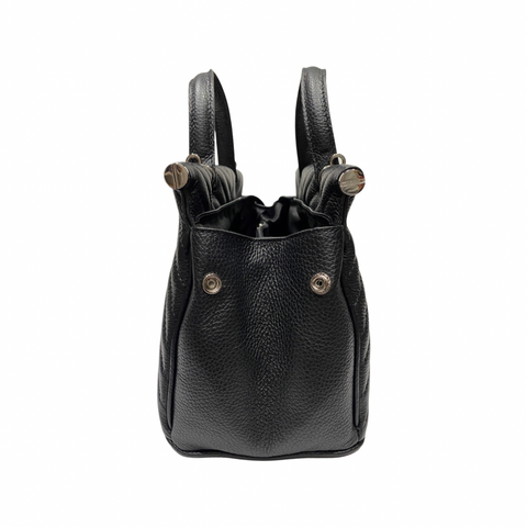 Small Handheld Soft Leather Tote Bag