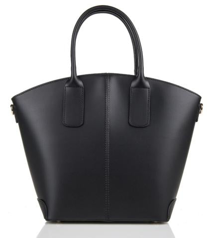 Shopper Top Handles Leather Shoulder Bag