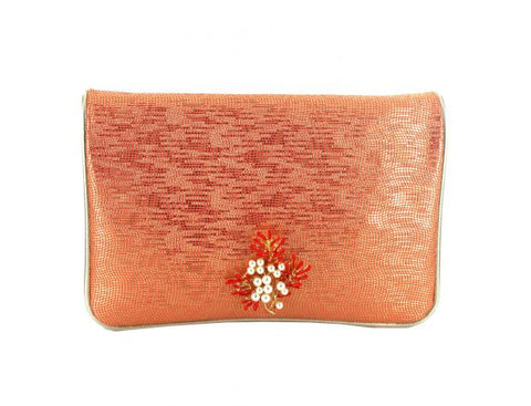 Menbur Red Clutch Bag
