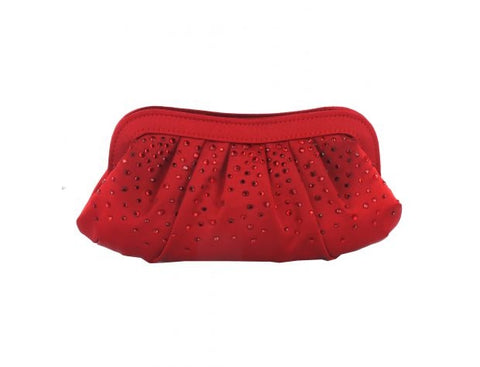 Menbur Red Clutch Evening Bag