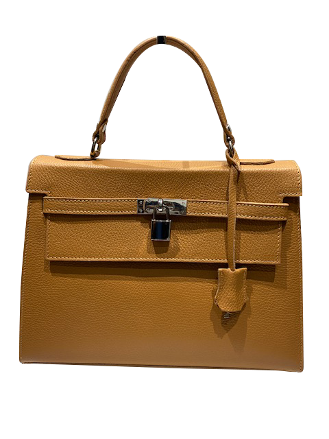 Top Handles Leather Bag