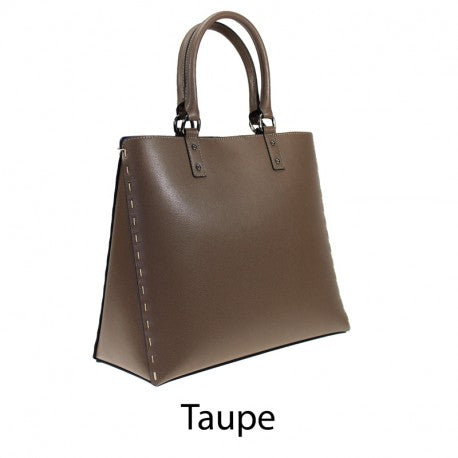 Taupe Shopper Bag