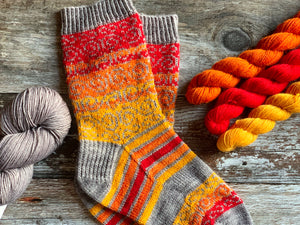 Kit - Swirls and Stripes Socks