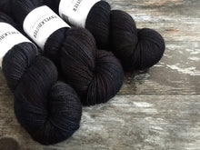 Load image into Gallery viewer, Merino Silk 4ply - Black Dog