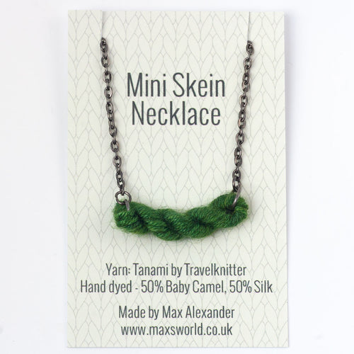Mini Skein Necklace