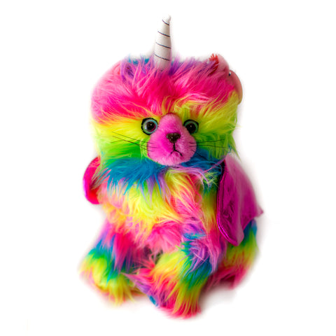 KITCHI - KITTEN - Rainbow Unicorn Kitty Pink Wings