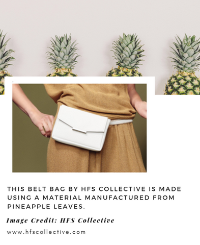 HFS Collective Vegan Belt Bag made from Pinatex