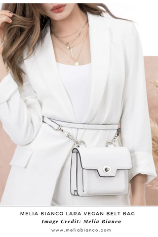 Melia Bianco Vegan Belt Bag