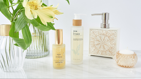 Best Skincare Products for Combination Skin by Zen+ Ether