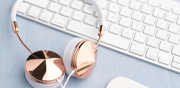 Take advantage of listening to music while working from home.