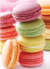 Macaroons Blank card from the All Things Nice Collection. Retail $2.99. Unit Quantity 6. Inside: BLANK