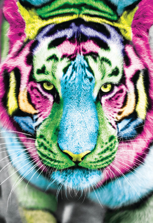Tiger blank card from the Vivid Jungle collection. Retail $2.99. Unit Quantity 6. Inside: BLANK