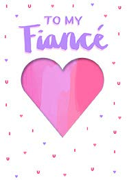 Pink heart- Fiance- Valentine's greeting card. Unit Quantity: 3. Retail: $3.49. Inside: Our love will grow stronger every day...