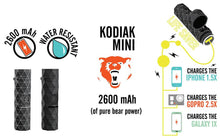 Load image into Gallery viewer, Kodiak Mini - USB Power Bank