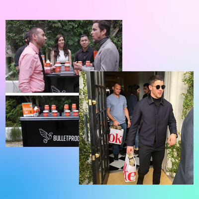 Deluxe Celebrity F&B Gifting + Meet the Celebrities - Product served by you at GMG