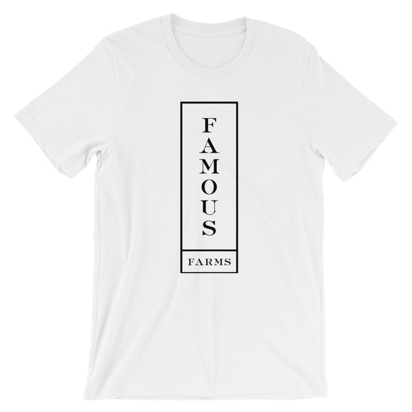Vertical Famous Outline Short-Sleeve