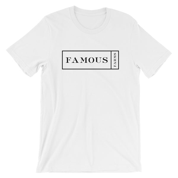 Wide Famous Outline Short-Sleeve