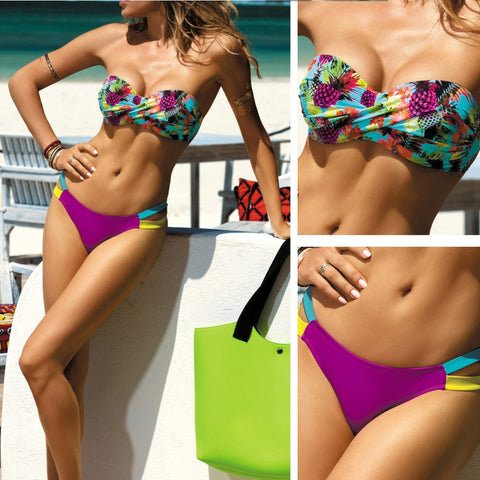 Bikini con Push up Carlota