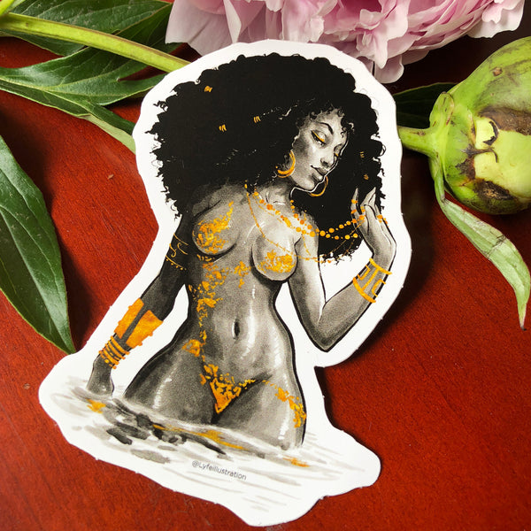 Oshun Sticker