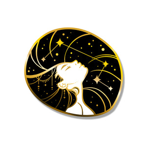 Star Girl Enamel Pin