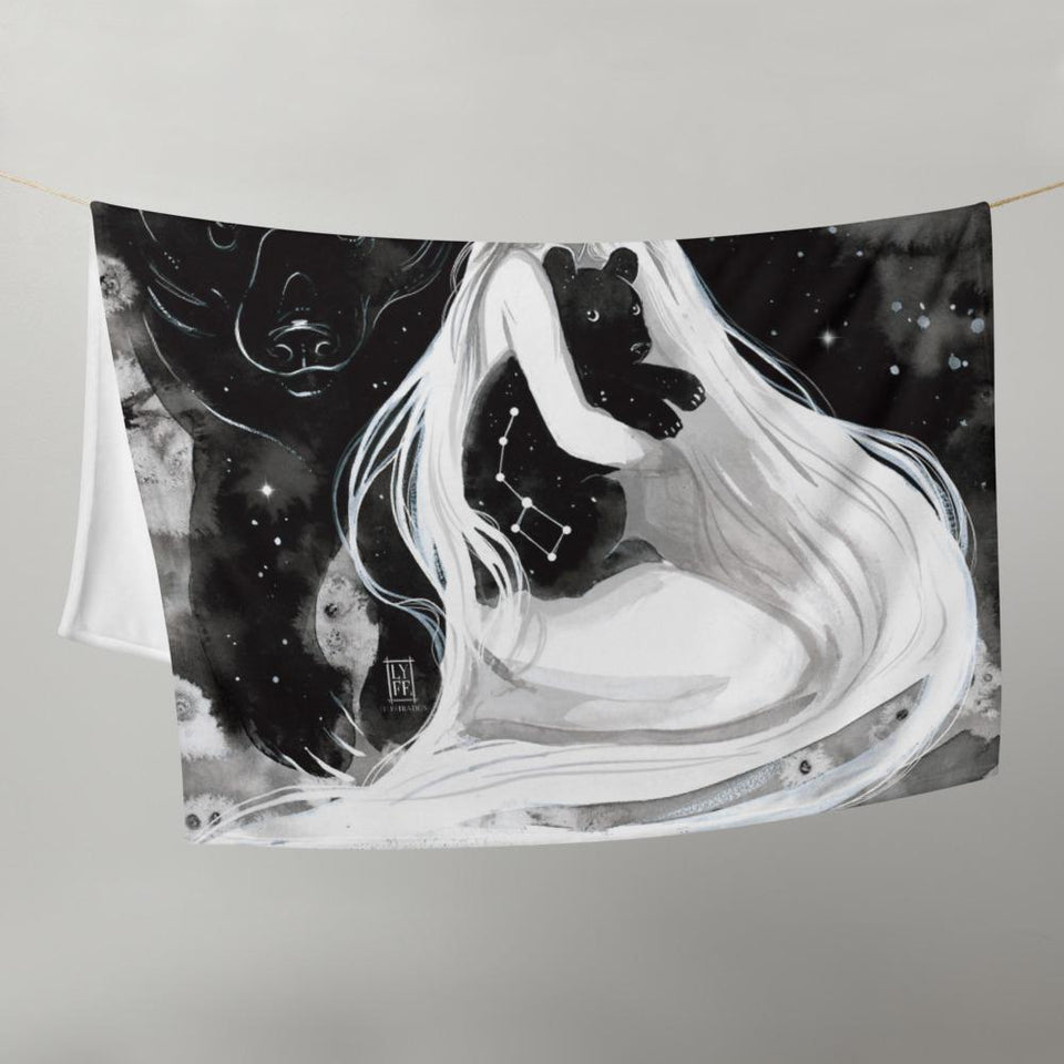 Ursa Major + Minor Throw Blanket