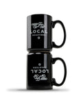 15 Oz Black Local Coffee Mug