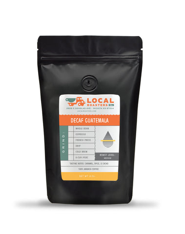 Decaf Guatemala Coffee 4 Oz