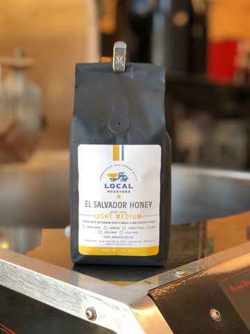 El Salvador Honey 12 Oz