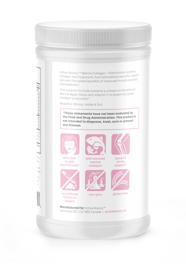 Marine Collagen Powder and Electrolytes